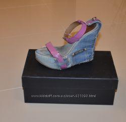 Босоножки джинсовые Dolce&Gabbana  р. 37