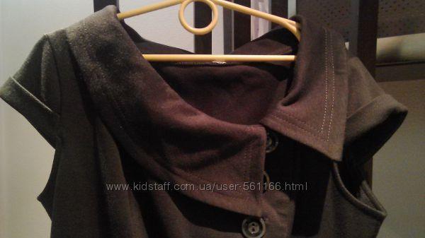 Туника - платье - сарафан на пуговицах 42 - 44 р