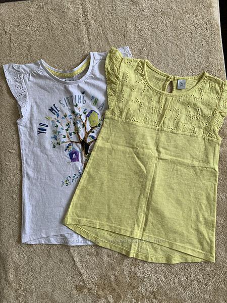 Котоновые футболочки, Tu, 5-6 л.