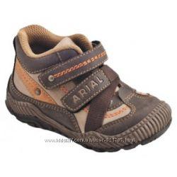 демисезонные ботиночки ARIAL для мальчика р. 21