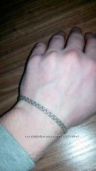 Продам браслет серебряный