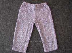 Вельветовые штаны для девочки от Original Marines.