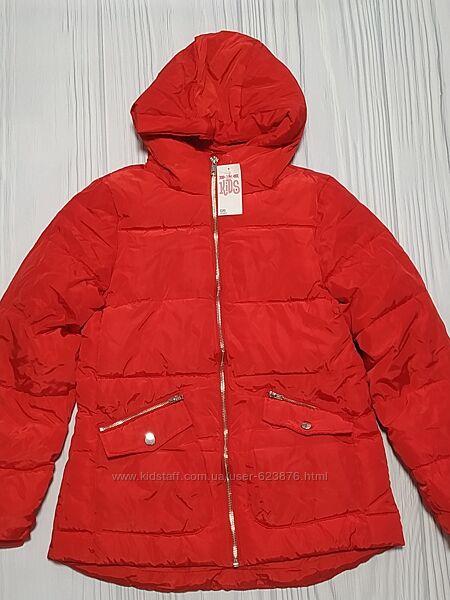 Куртка красная Matalan размер 12 лет и 7 лет