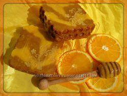 Натуральное мыло с нуля Апельсиновый мед
