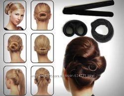 Знаменитые заколки для волос-Хэагами Hairagami тканевые