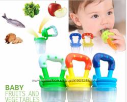 Детская силиконовая соска контейнер для введения  прикорма - ниблер