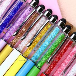 Роскошный подарок шариковая ручка-стилус с кристаллами