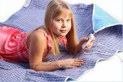 Электропростынь двуспальная, одеяло с подогревом 150х120 см. 1000717