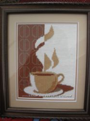 Вышивка картины Чашка кофе