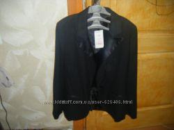 Новый пиджак черный классический Naf naf