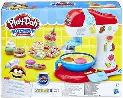 Play-Doh Пластилин Kitchen Mixer Hasbro Плей до Миксер