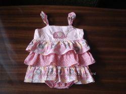 Песочник-сарафан F&F, сарафанчик Carters, костюмчик для девочки на 1 год