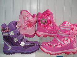 Термо-ботинки на девочек -яркая зима 27-38р. -330грн