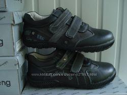 Кожаные туфли- кроссовки на мальчиков 32-37 р