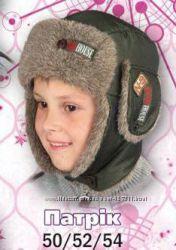 Зимние шапочки для мальчиков
