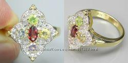 продам кольцо с 5 камнями