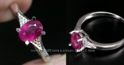 продам кольцо с рубином