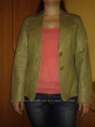 Кожаная куртка -пиджак