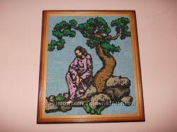 Картина - Иисус под деревом
