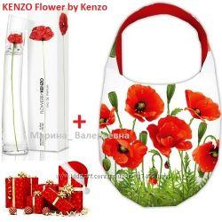 Сумка и парфюм. Подарочный набор Kenzo