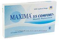 Контактные линзы Maxima 55, Maxima 55 uv vial, Maxima SiHy, Maxima elite