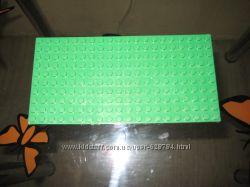 Строительная пластина для констуктора Ninja, крепления шире чем у лего ориг