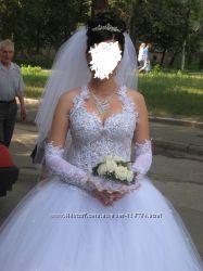 Продам свадебное платье р. 42 - 50. Состояние нового.