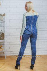Костюм женский с брюками под заказ