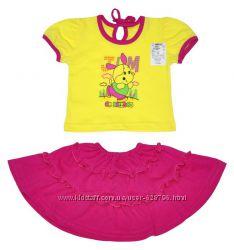 Комплект Весна футболка и юбка