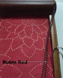 Рулонные шторы РУБИН из фирменной ткани