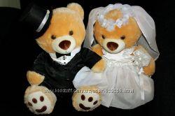 Мишки на свадебную машину прокат