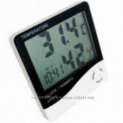 HTC-1 метеостанция, гигрометр, термометр, часы