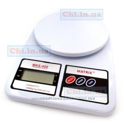 Весы для кухни SF-400  2 батарейки 10 кг кухонные