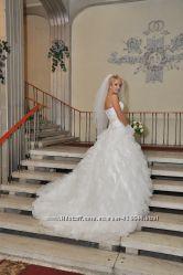 Волшебное французское платье  Miss Kelly MK121-13, благородный цвет айвори.