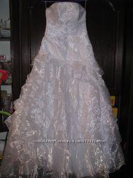 Свадебное платье на рост 180см