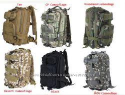 Новый Тактический Военный Рюкзак 25-30л