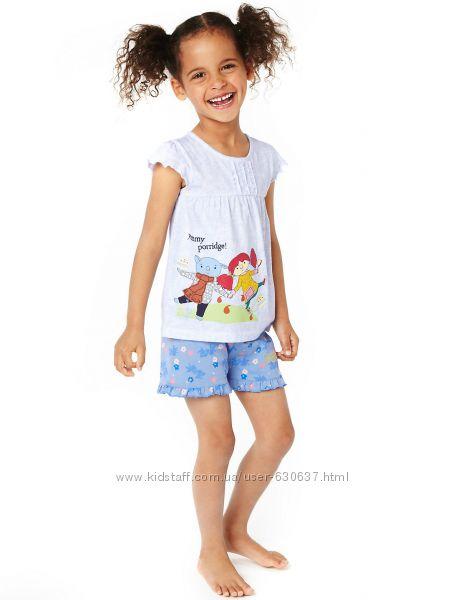 Піжами для дівчаток М S. Великобританія. Розміри від 2 до 5 років ... c46fc409f0e42