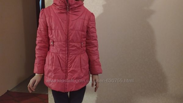 Легка Демі шикарна куртка, 128 -134см