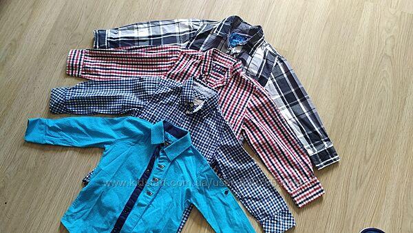Брендові рубашкі, 104-110-116 см,  і 94 см, чудовий стан
