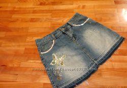 Юбочка джинсовая