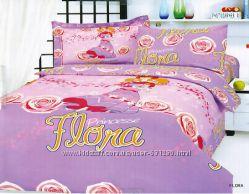 Детское постельное белье сатин Le Vele для девочки