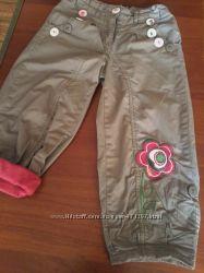 Хлопковые брюки на подкладке COOLCLUB, р. 104