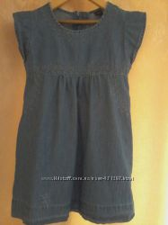 Платье джинсовое Gap, 4-5 лет