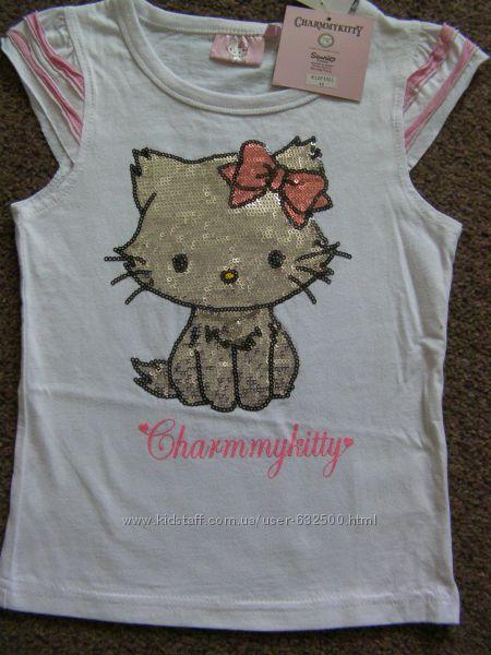 Новые футболки для девочки SANRIO Сharmmykitty