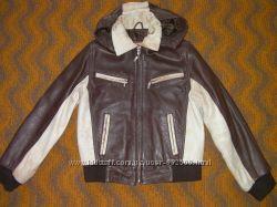 БУ кожанная куртка Турция