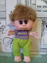 вязаная кукла-пупс