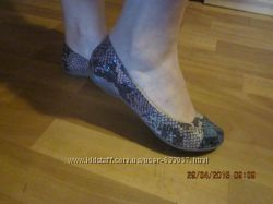 Лодочки балетки размер 37 -38