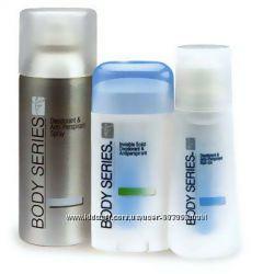 Дезодоранты BODY SERIES от Amway - надежная защита от пота до 48 часов
