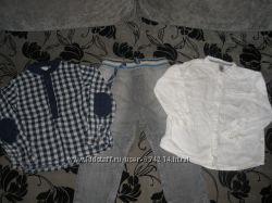 Комплект Next, Zara для мальчика 1, 5-2 года