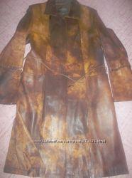 Продам женский кожаный френч, 52-54 размер